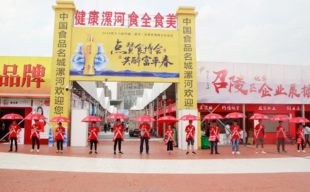 中国食品代理网点燃漯河糖酒会
