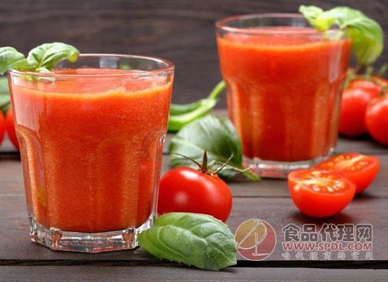 番茄的理想番茄汁圖片