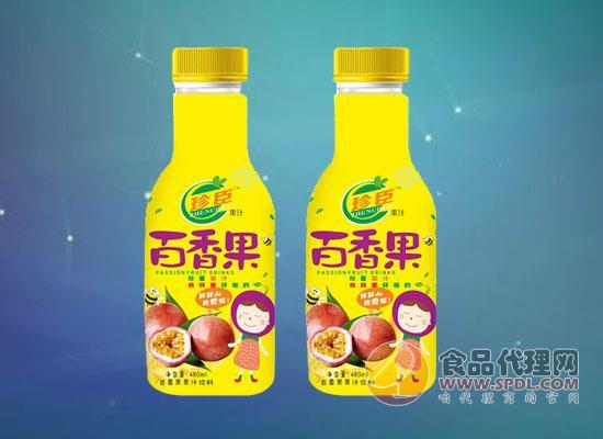 中劲珍臣百香果汁饮料