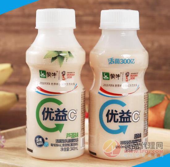 蒙牛優益C活菌型乳酸菌飲品