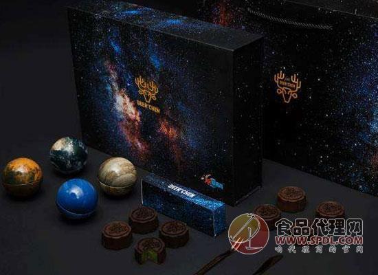 陈小鹿星球月饼礼盒图片