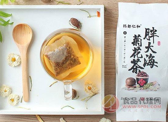 仁和胖大海菊花茶图片