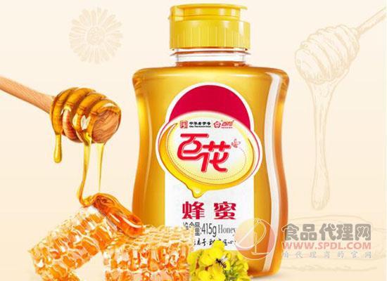 百花牌蜂蜜食品