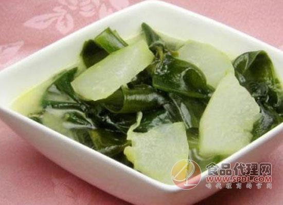 怎么做海带冬瓜汤可以减肥