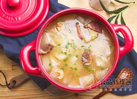 火腿萝卜汤