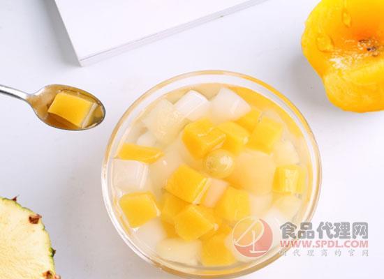 百草味什锦水果捞图片