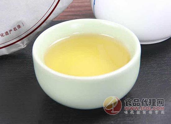 白牡丹茶饼茶叶