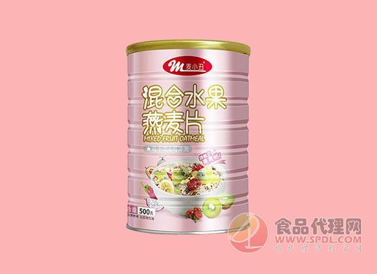麦小丑混合水果燕麦片500g