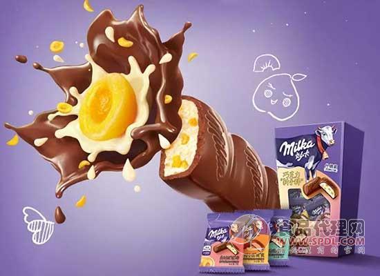 妙卡混搭巧克力图片
