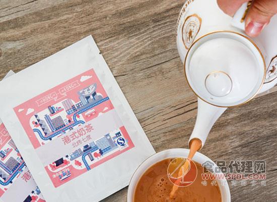 北纬七度港式奶茶图片