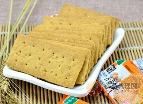 中膳堂糖醇苦荞饼干食品