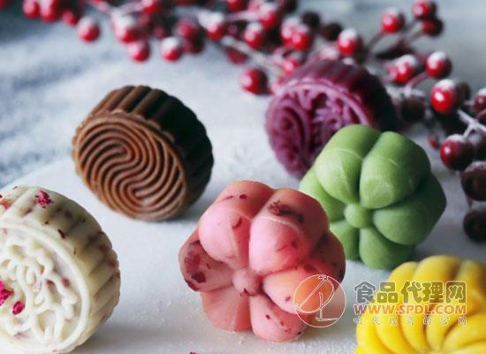 惠佰乐桃山月饼图片