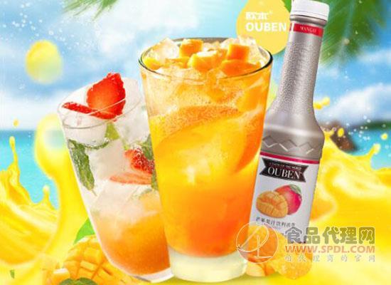 欧本芒果汁