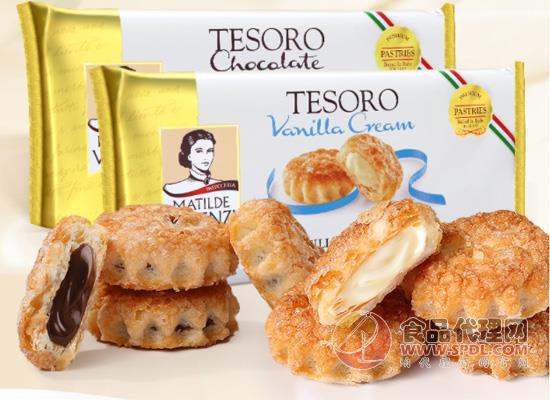 维西尼巧克力饼干图片