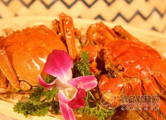 大閘蟹食品