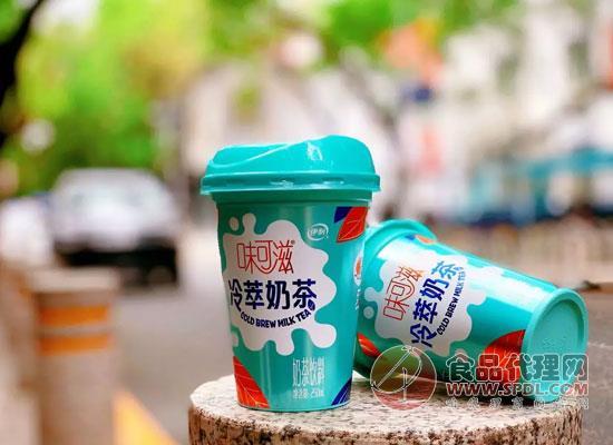 味可滋冷萃奶茶圖片