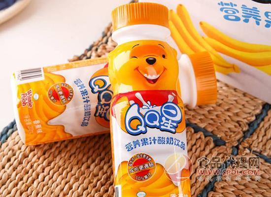 伊利QQ星果汁酸奶