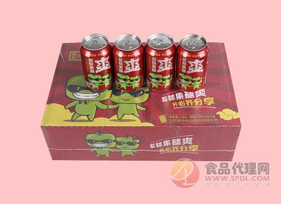 紫林苹果醋