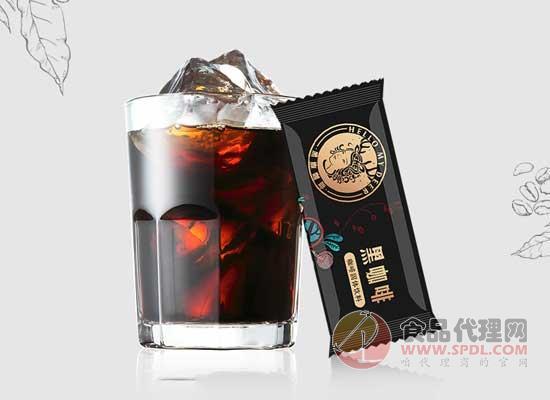 黑鹿黑咖啡200g圖片