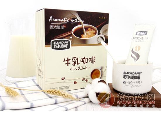 苏卡牛乳咖啡图片