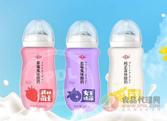 福淋果味酸奶
