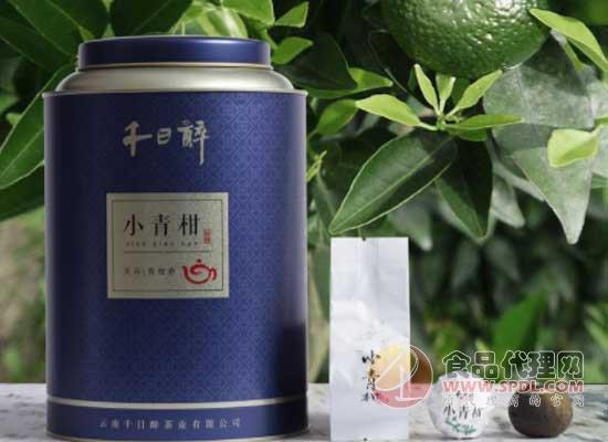 千日醉小青柑普洱茶图片