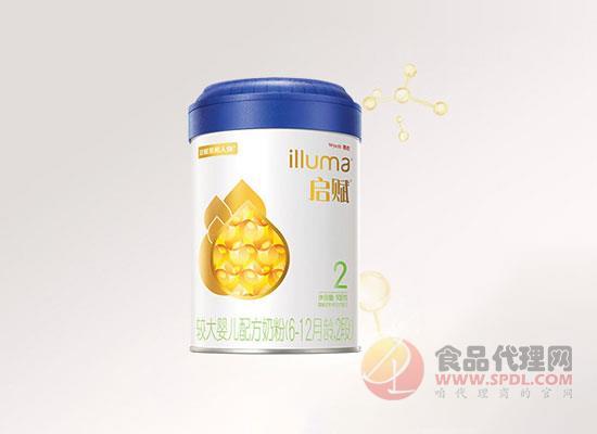 惠氏啟賦奶粉2段圖片