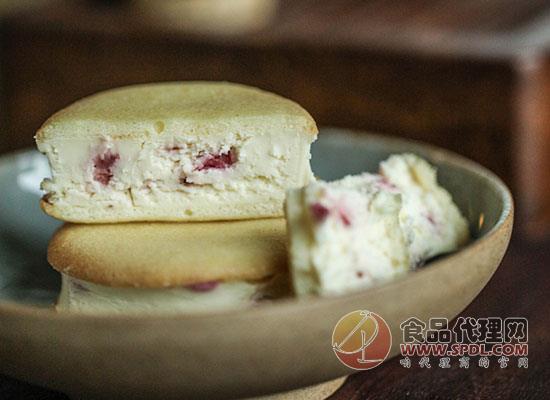 甜诱抹茶乳酪夹心饼干图片