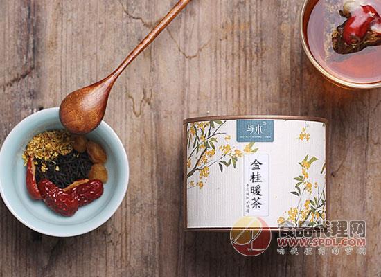 與木金桂暖茶圖片