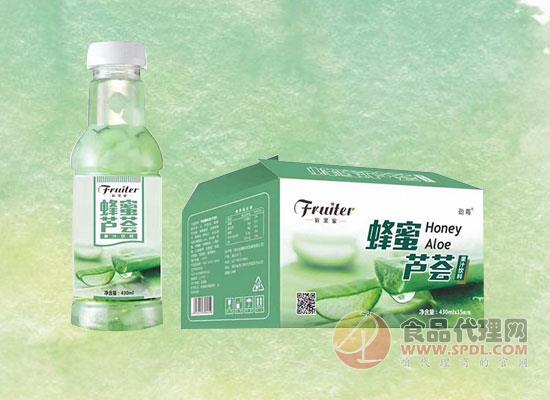 蜂蜜芦荟果汁饮料