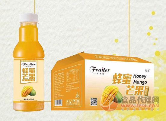 蜂蜜芒果果汁饮料