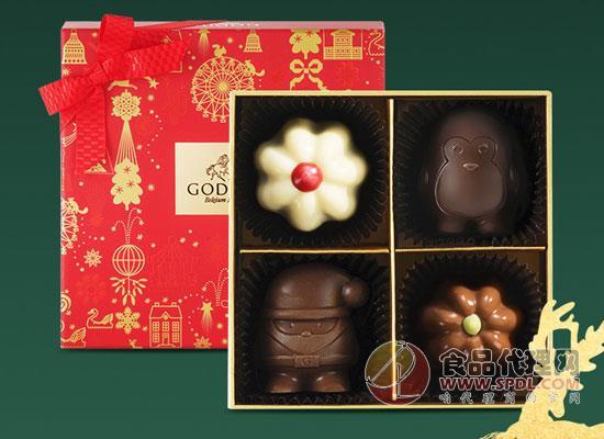 歌帝梵圣诞巧克力