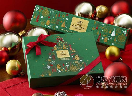 歌帝梵圣诞老人巧克力