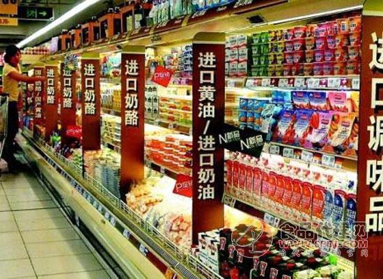 我国进口食品的市场零售规模突破万亿元