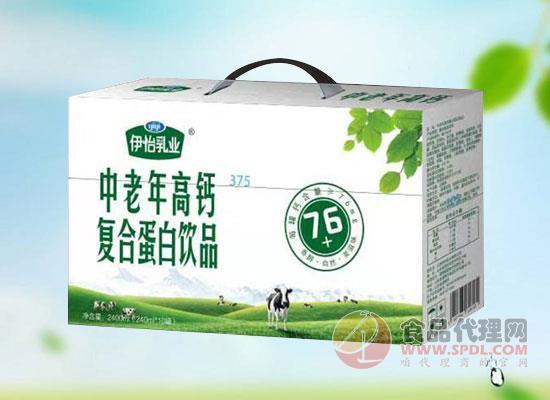 伊怡乳业中老年高钙复合蛋白饮品