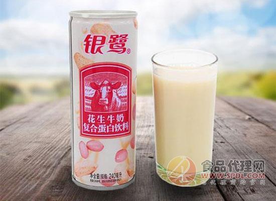 银鹭花生牛奶
