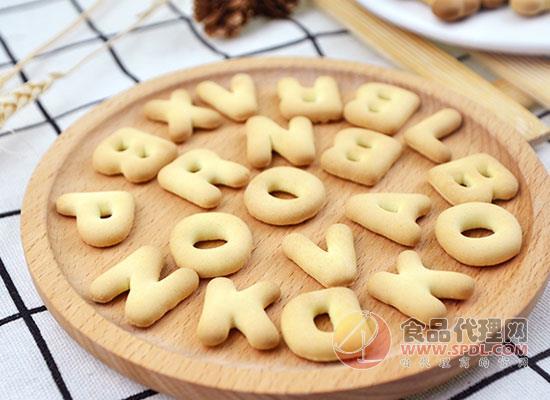 河马莉字母饼干