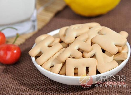 青食字母餅干