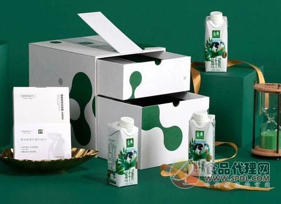 金典純牛奶夢幻蓋新品上市,蛋白質含量成亮點