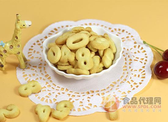 方广字母饼干