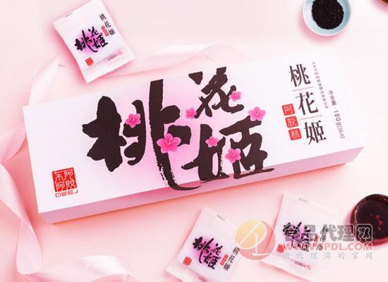 桃花姬阿膠糕
