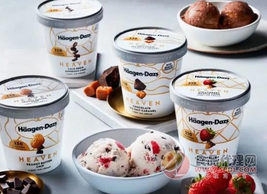 哈根達斯推出天堂低熱量冰淇淋系列