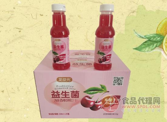 龙益元益生菌发酵果汁