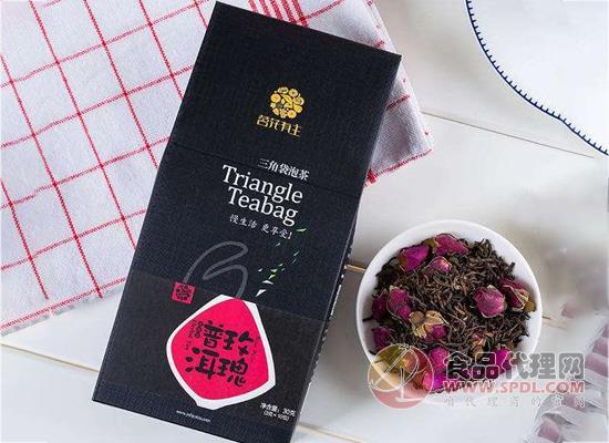 茗花有主玫瑰普洱茶