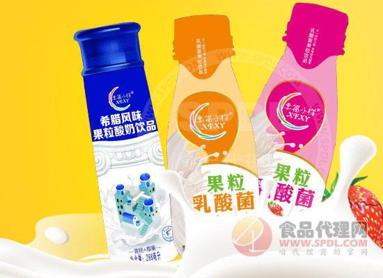 幸福小样果粒乳酸菌饮品
