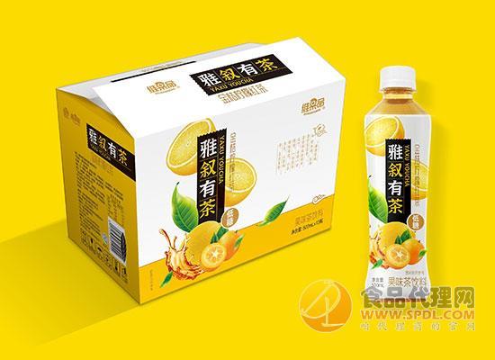 维果品金桔柠檬红茶饮料