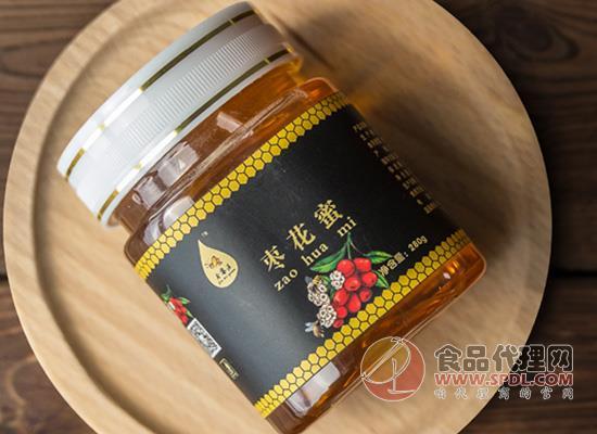 今蜜源棗花蜂蜜