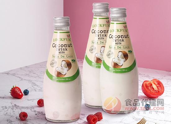 樂可芬椰子汁