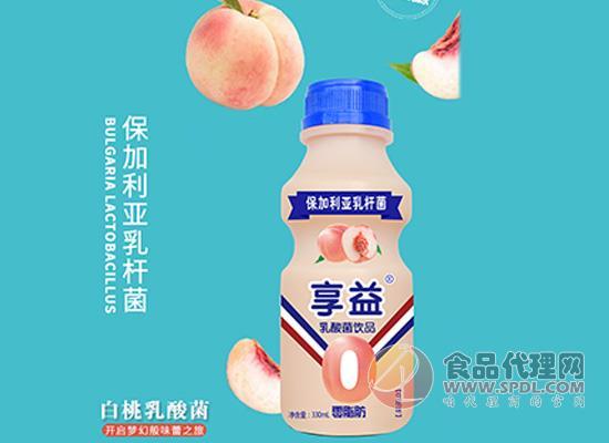 享益白桃味乳酸菌饮品