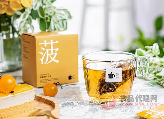 茶小壶元气菠萝红茶